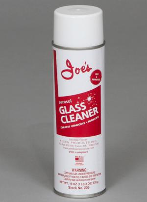 joe's glass cleaner