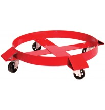 Band Dolly w/Steel Outrigger Casters For 55 Gal. Drum