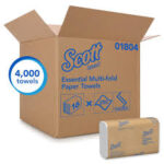 SCOTT ESSENTIAL MULTI-FOLD TOWELS