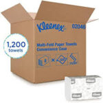 KLEENEX MULTI-FOLDTOWELS WH CONVENIENCE CASE