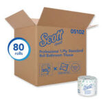 SCOTT ESSENTIAL 1 PLY STANDARD ROLL BATHROOM TISSUE