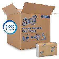 SCOTT ESSENTIAL MULTI-FOLD TOWELS