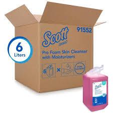 SCOTT PRO FOAM SKIN CLEANSER WITH MOISTURIZER PINK