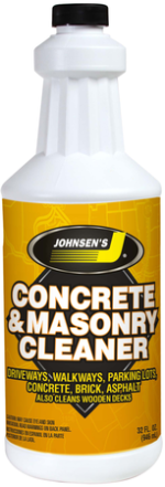 concrete and masonry cleaner