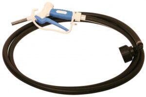 Gravity Drain Kit for 275-330 Gallon DEF IBC Totes w/ 12´ Hose, Manual Nozzle