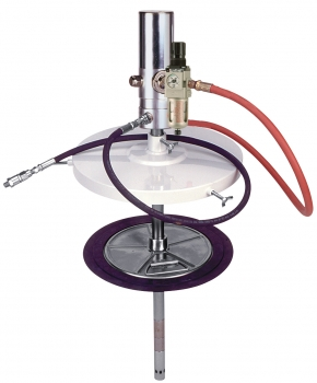 """Grease System, 120 lb, w/ 12´ Hose, Grease Control Handle and """"Z"""" Swivel"""