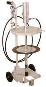 Grease System, 120 lb, w/ 2 Wheel Cart & 12´ Hose