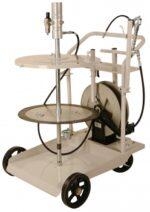 Grease System, 420 lb, w/ Heavy Duty 4 Wheel Cart & 50´ Hose Reel, FOB Wichita, KS