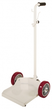 Heavy Duty 2 Wheel Cart w/Low Platform, 8˝ Wheels