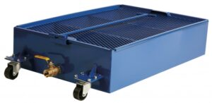 Low Profile, Portable Oil Drain, 25 Gallon Capacity, FOB Wichita, KS