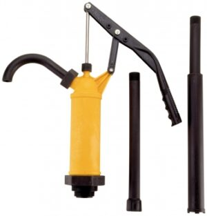MA-31, Plastic Lever Hand Pump, Polypropylene w/ Stainless Steel Shaft