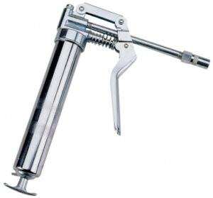 Mini Pistol Grip Grease Gun, 3 oz., w/ Rigid Extension