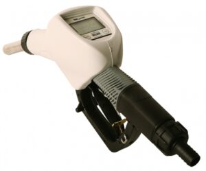 Poly Auto Nozzle w/ 3/4˝ Hose Barb Inlet, w/ Meter on Board, DEF