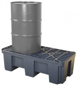 Spill Containment Pan for Two 55 Gallon Drums, FOB Wichita, KS