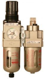 3/4˝ Air Filter/Regulator w/ Gauge, 230 PSI Maximum