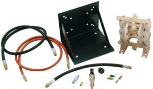 3/4˝ DD Pump Oil Evacuation Kit w/ Wall Mount Bracket