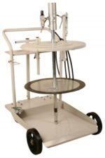 420 lb Mobile Grease System w/ 12´ Hose & Heavy Duty 4 Wheel Cart, FOB Wichita, KS