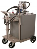 75 Gallon Cart for Two Way Oil Transfer, w/ 3/4˝ DD Pump, FOB Wichita, KS