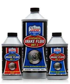 synthetic brake fluid dot 3 dot 4